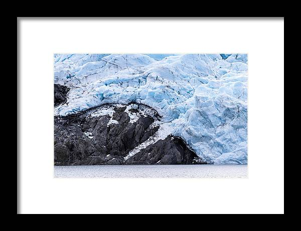 Alaska Framed Print featuring the photograph Portage Glacier Rretreat by Kyle Lavey