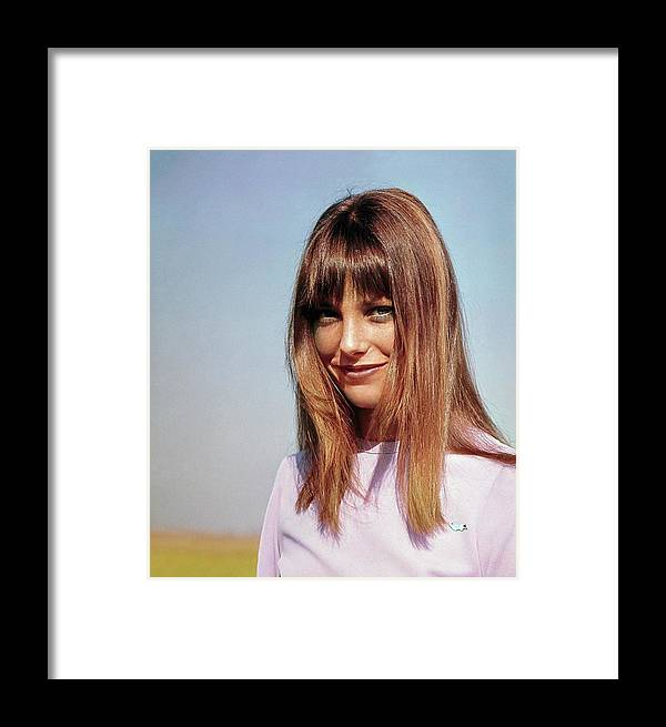 Actress Framed Print featuring the photograph Portrait Of Jane Birkin by John Cowan