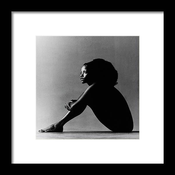 Music Framed Print featuring the photograph Portrait Of Melba Moore by Jack Robinson