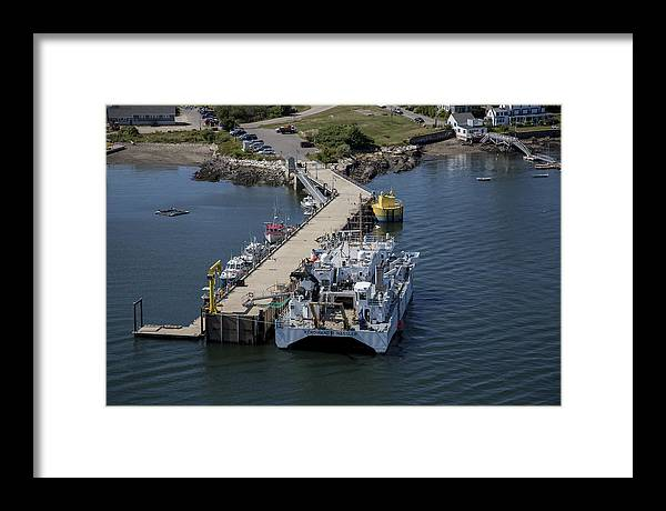 America Framed Print featuring the photograph Portsmouth, New Hampshire Nh by Dave Cleaveland