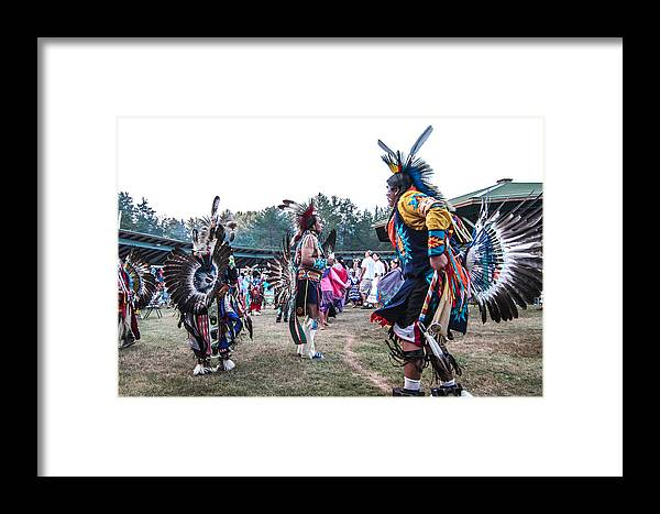 Honor The Earth Framed Print featuring the photograph Pow Wow 4 by Keith R Crowley