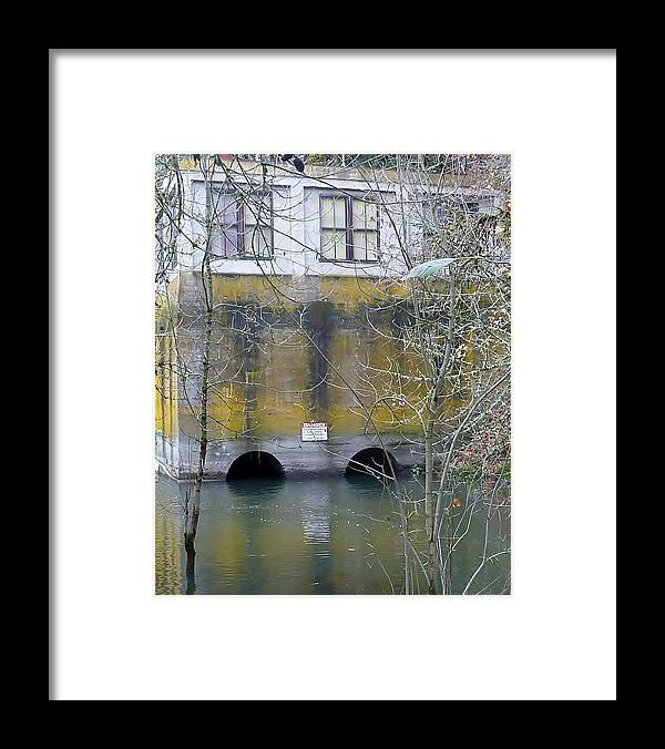 Abandoned Framed Print featuring the photograph Power House Station by Susan Garren