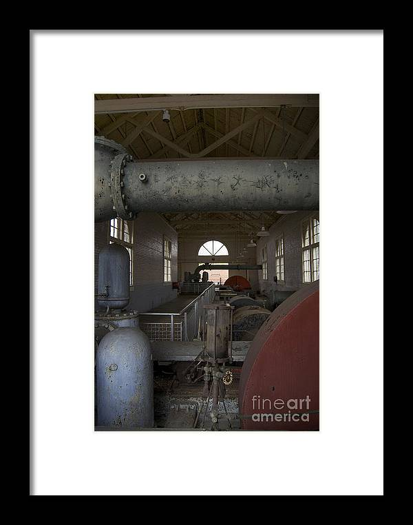 Scenic Tours Framed Print featuring the photograph Power Production by Skip Willits
