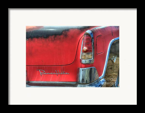 Car Framed Print featuring the photograph Powerflite by Bob Christopher