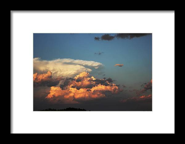 Sask Framed Print featuring the photograph Powerful Cloud by Ryan Crouse