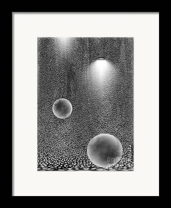 Preferences Framed Print featuring the digital art Preferences - Abstract Art By Giada Rossi by Giada Rossi