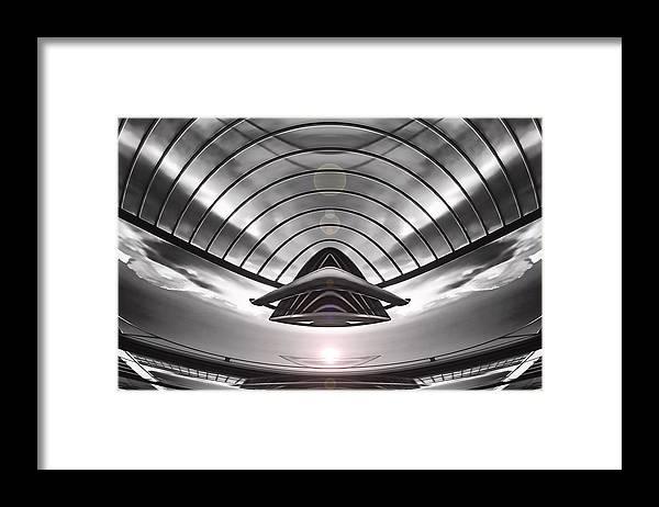 Art166.com Framed Print featuring the digital art Presence by Wendy J St Christopher
