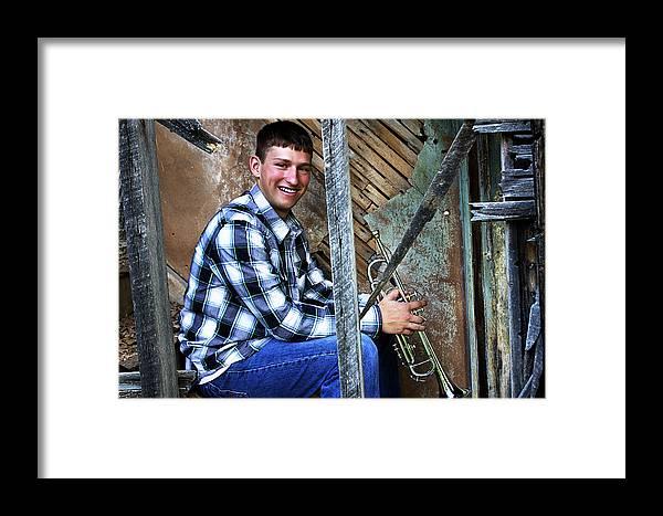 Brett Herr Framed Print featuring the photograph Preston 6 by Michele Richter