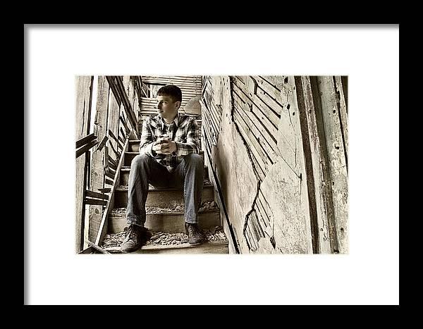 Brett Herr Framed Print featuring the photograph Preston 7a by Michele Richter