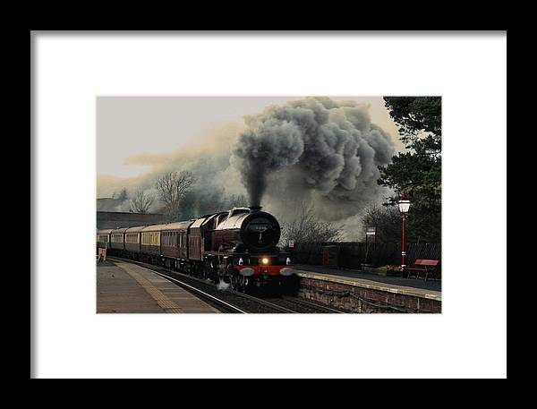 Visits Framed Print featuring the photograph Princess Elizabeth by Martyn Garrett