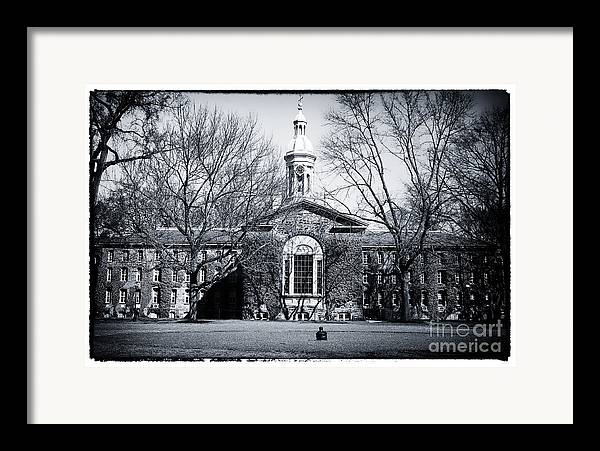 Princeton University Framed Print featuring the photograph Princeton University by John Rizzuto