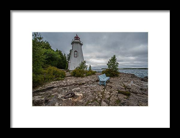 Lighthouse Framed Print featuring the photograph Protection by Paul Johnson