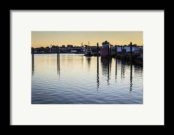 Andrew Pacheco Framed Print featuring the photograph Providence Waterfront by Andrew Pacheco