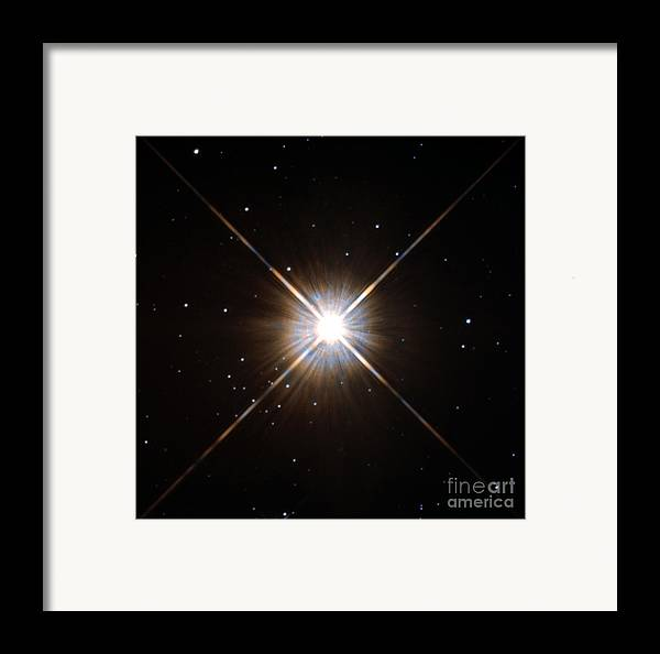 Proxima Centauri Framed Print featuring the photograph Proxima Centauri by Science Source