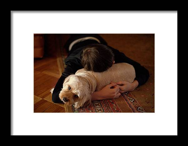 Cavapoo Framed Print featuring the photograph Puppy Love by JC Findley