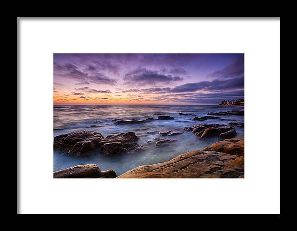 California Framed Print featuring the photograph Purple Majesty No Mountain by Peter Tellone