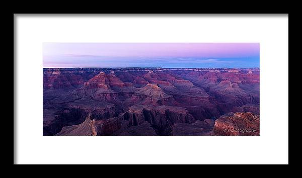 Grand Canyon Framed Print featuring the photograph Purple Majesty by Preston Fiorletta