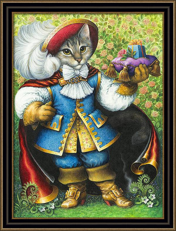 Puss-In-Boots by Lynn Bywaters