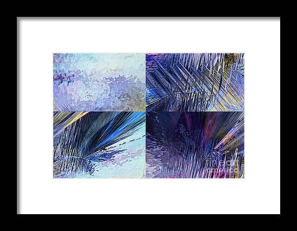Hotel Art Framed Print featuring the digital art Quartet by Margie Chapman