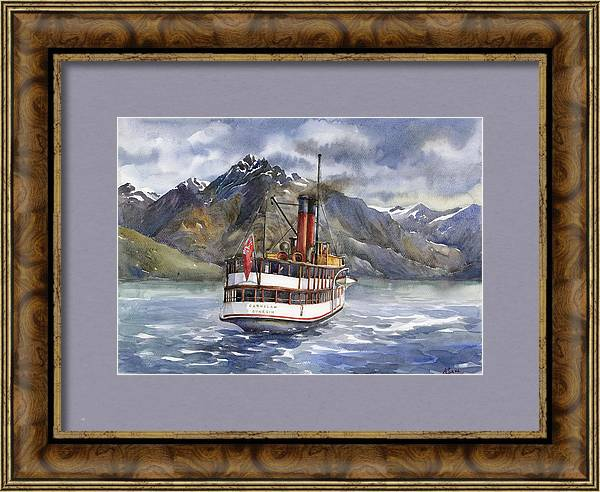 Queenstown Steamer by Ludmila Korol