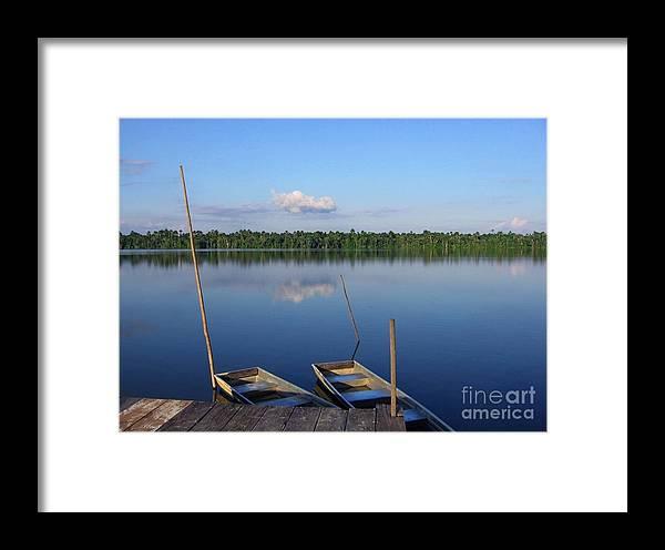 Amazon Framed Print featuring the photograph Quistococha by Gart Van Gennip