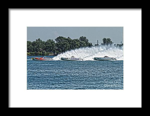 Talkin Trash Framed Print featuring the photograph Race Day by Michael Petrick
