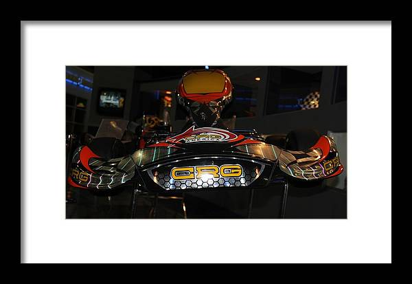 Karts Framed Print featuring the photograph Racing Kart by Horst Duesterwald