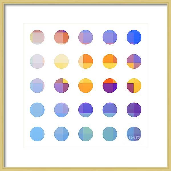 Rainbow Dots  by Pixel Chimp