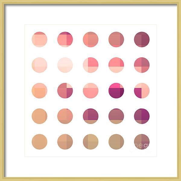 Rainbow Dots Rose by Pixel Chimp