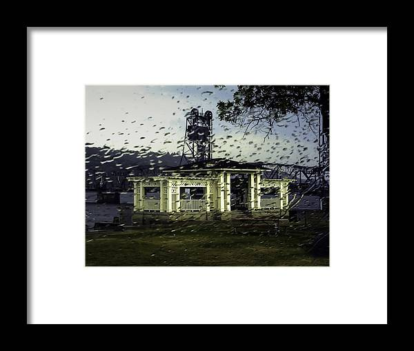 Curtis Framed Print featuring the photograph Rainy Day by Curtis Dale