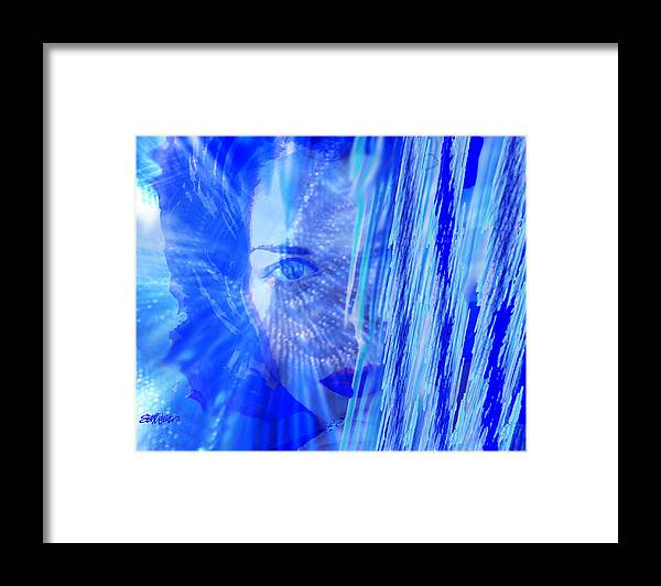 Rainy Day Dreams Framed Print featuring the digital art Rainy Day Dreams by Seth Weaver
