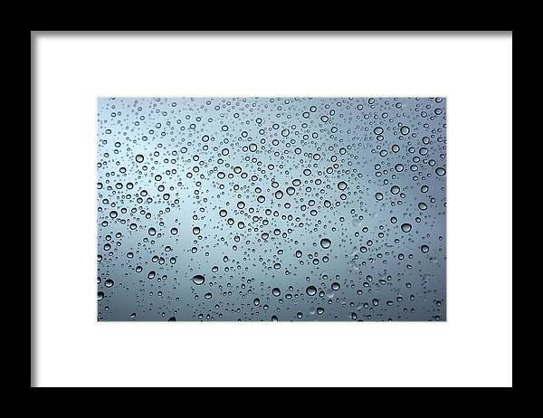 Horizontal Framed Print featuring the photograph Rainy Day Out by Nigel Killeen