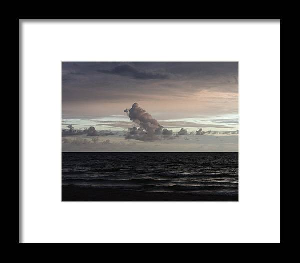 Water Framed Print featuring the photograph Ramp To The Heavens by David Rosenthal