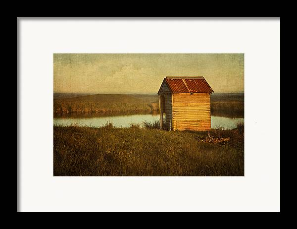 Shack Framed Print featuring the photograph Ramshackle by Amy Weiss