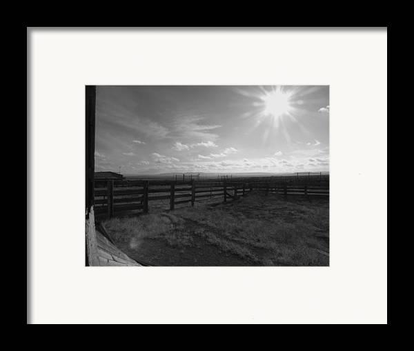 Colorado Framed Print featuring the photograph Rancho Colorado by Anna Villarreal Garbis