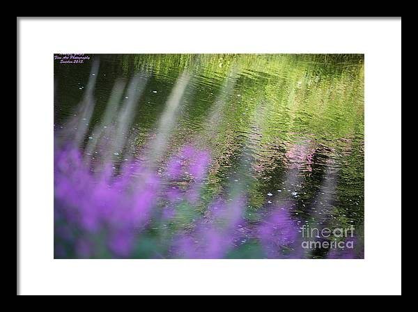 Landscape Prints Framed Print featuring the photograph Rande Vouz And Midsummer Wonderful Day Prayer On Heaven by Andrzej Goszcz
