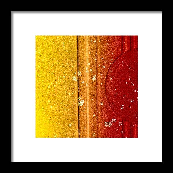 Raw Framed Print featuring the photograph Raw Steel 1 by Tom Druin