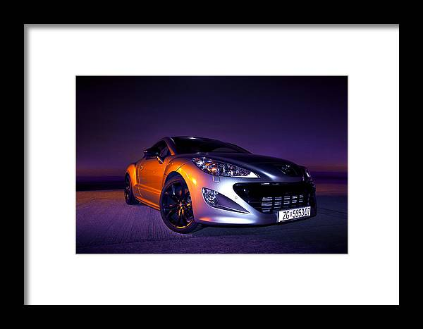 Night Framed Print featuring the photograph Rcz 1 by Petra Kontusic