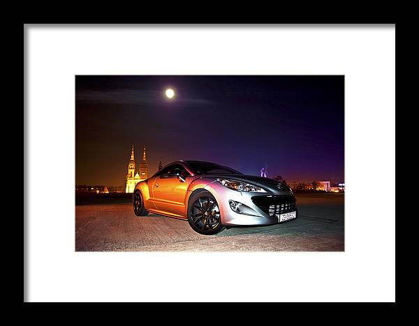 Night Framed Print featuring the photograph Rcz 3 by Petra Kontusic