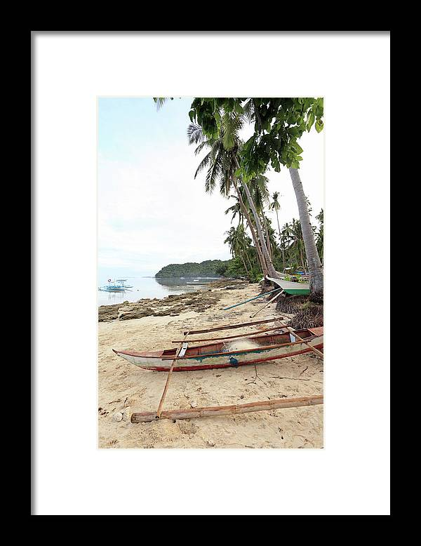 Water's Edge Framed Print featuring the photograph Ready To Fishing by Vuk8691