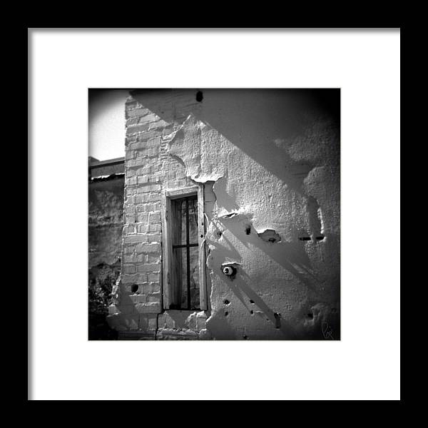 Holga Framed Print featuring the photograph Rear Window by Paul Anderson