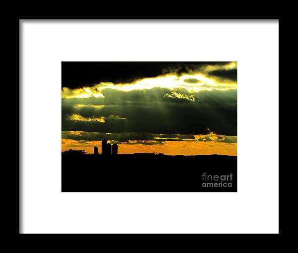 Reckoning Framed Print featuring the photograph Reckoning by Ron Tackett