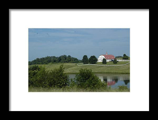 Barn Framed Print featuring the photograph Red Barn by Hugh Peralta