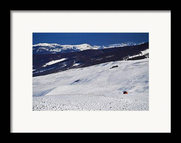 Red Barn Framed Print featuring the photograph Red Barn by Skip Hunt
