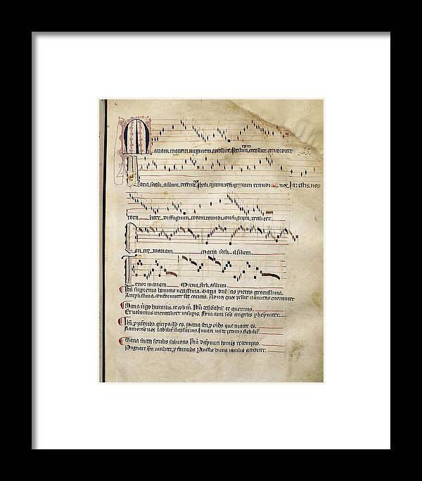 Red Book Of Montserrat  14th C  - 16th Framed Print