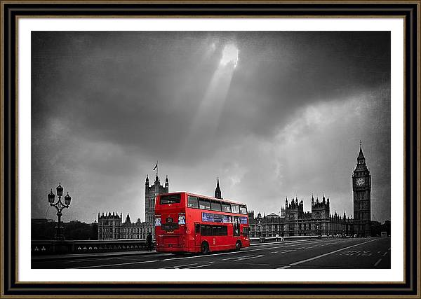 Red Bus by Svetlana Sewell