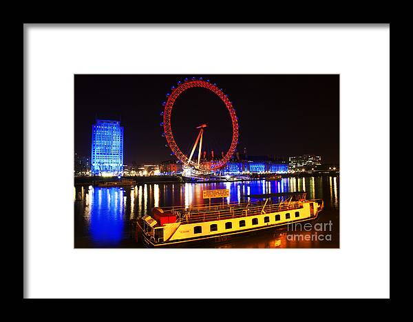 London Framed Print featuring the photograph Red Eye by Sara Messenger