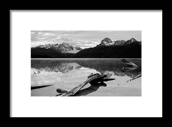 Red Fish Framed Print featuring the photograph Red Fish Lake Idaho by Robert Woodward