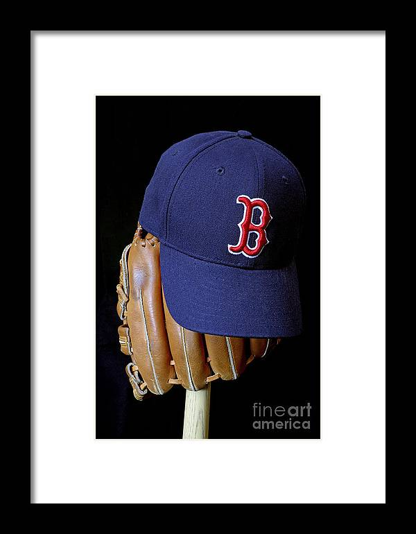 Boston Red Sox Framed Print featuring the photograph Red Sox Nation by John Van Decker