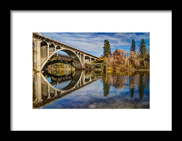Gold Hill Oregon Framed Print featuring the photograph Reflecting On The Past by Randy Wood